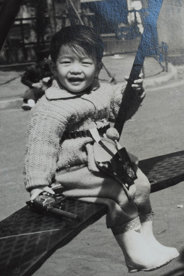幼少の頃の管理人