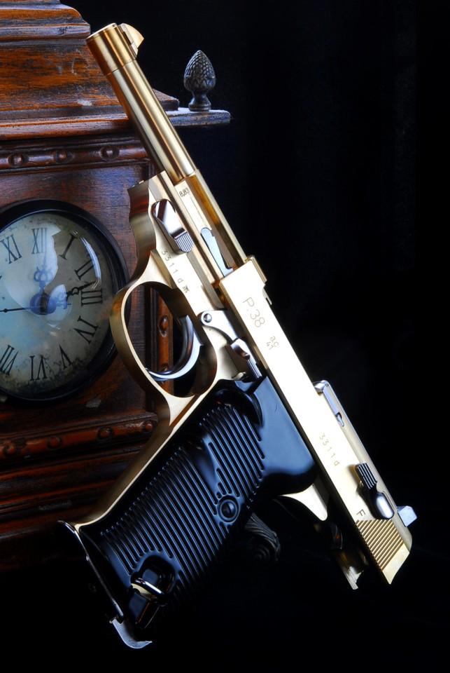 マルゼンP38・ジーク真鍮キット完成品