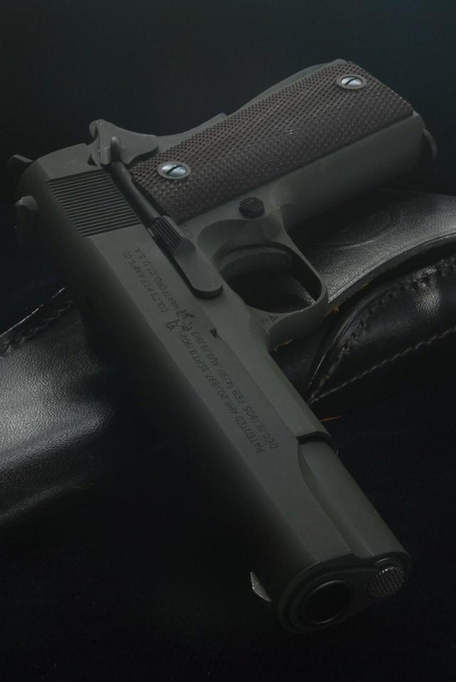 六研エラン コルトM1911A1 ミリタリー・パーカー