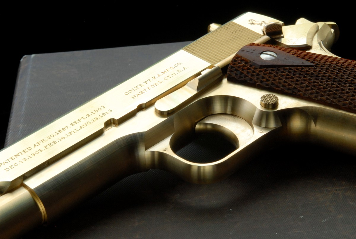 PRODUCTS ZEKE 真鍮 コルトM1911 コマーシャル(デュポン社納入品レプリカ)
