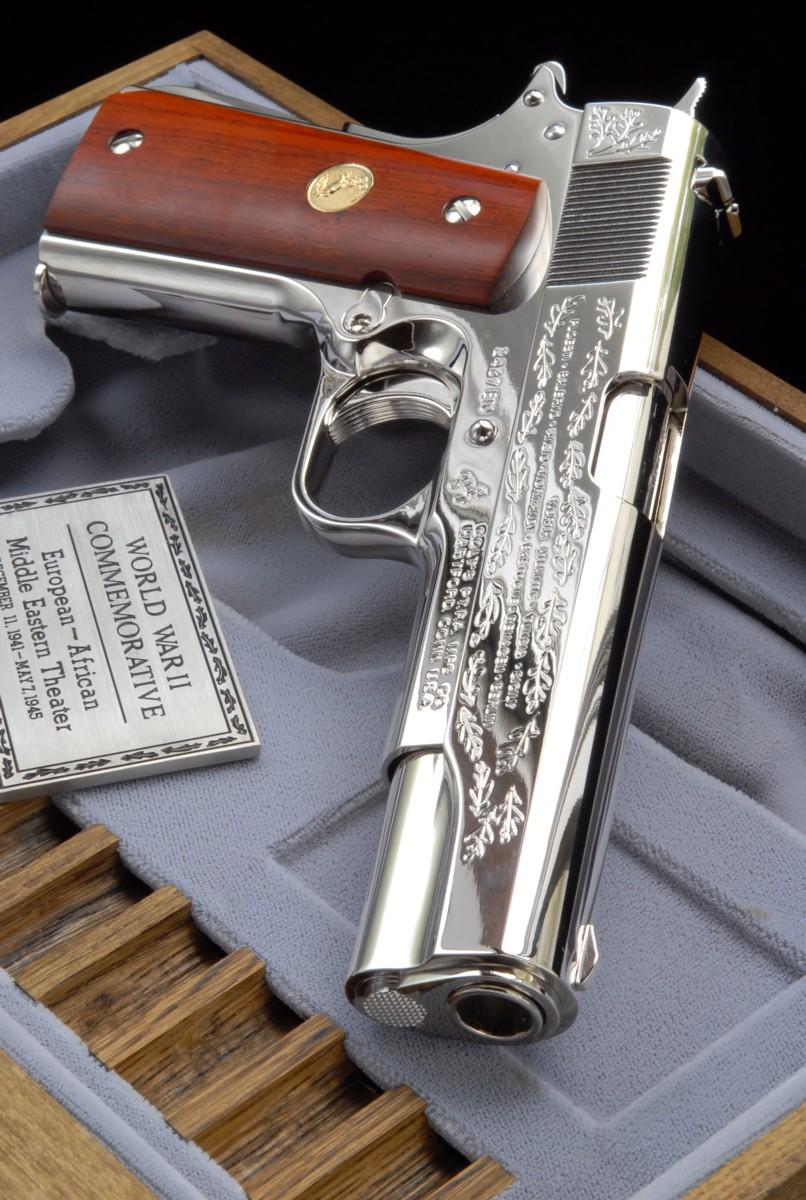 六研エラン・M1911A1大西洋戦争記念モデル