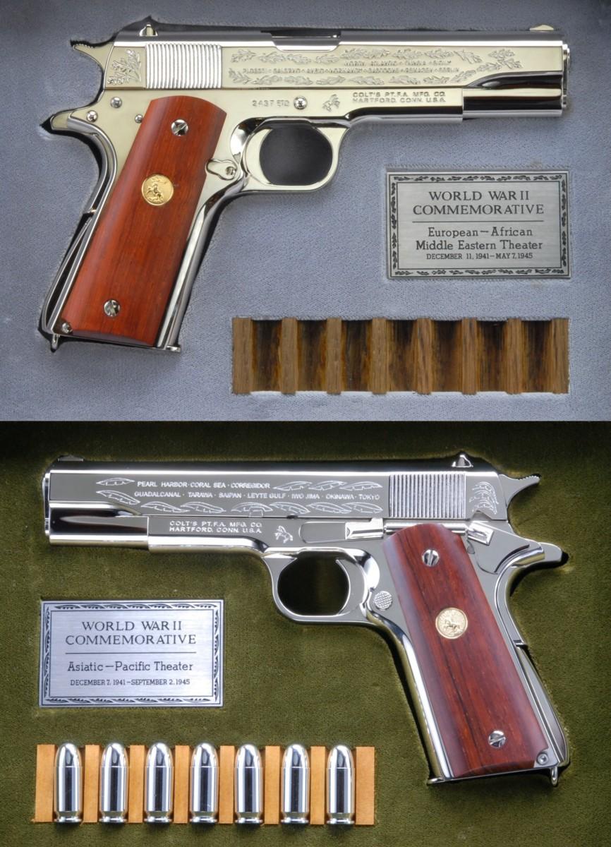 六研エラン・M1911A1大西洋&太平洋戦争記念モデル