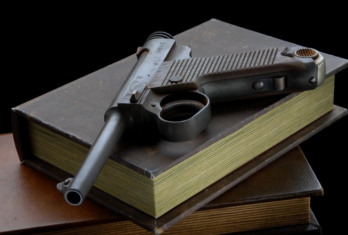 CAW十四年式拳銃 後期型・ナカ&ナカ様製作ビンティージフィニッシュ